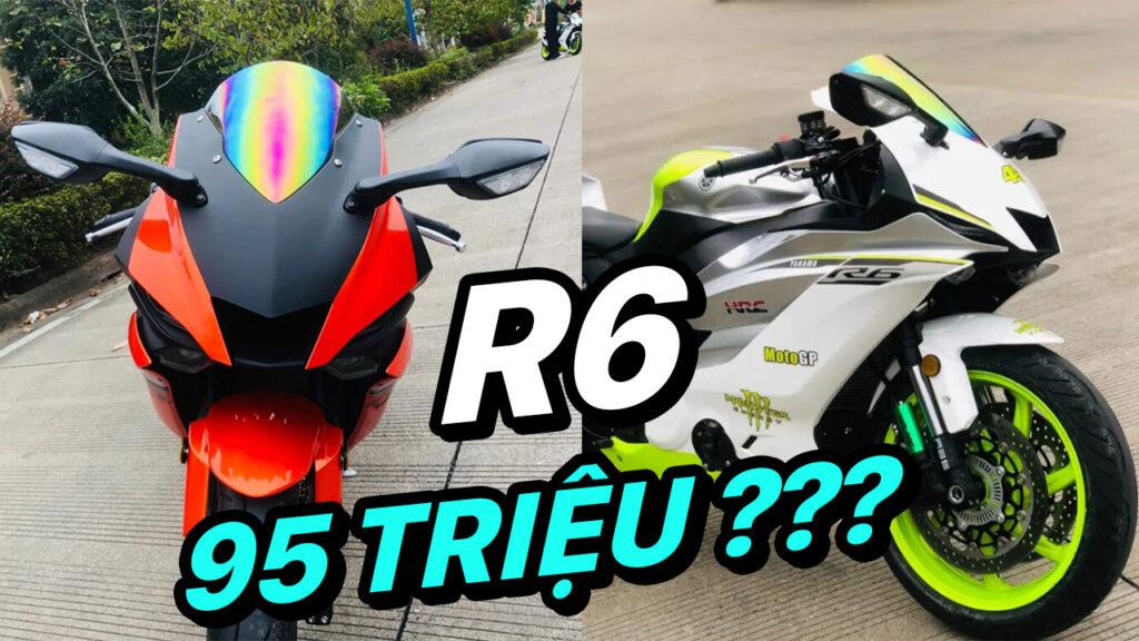 Cận cảnh Yamaha R6 Fake giá 95 triệu đồng