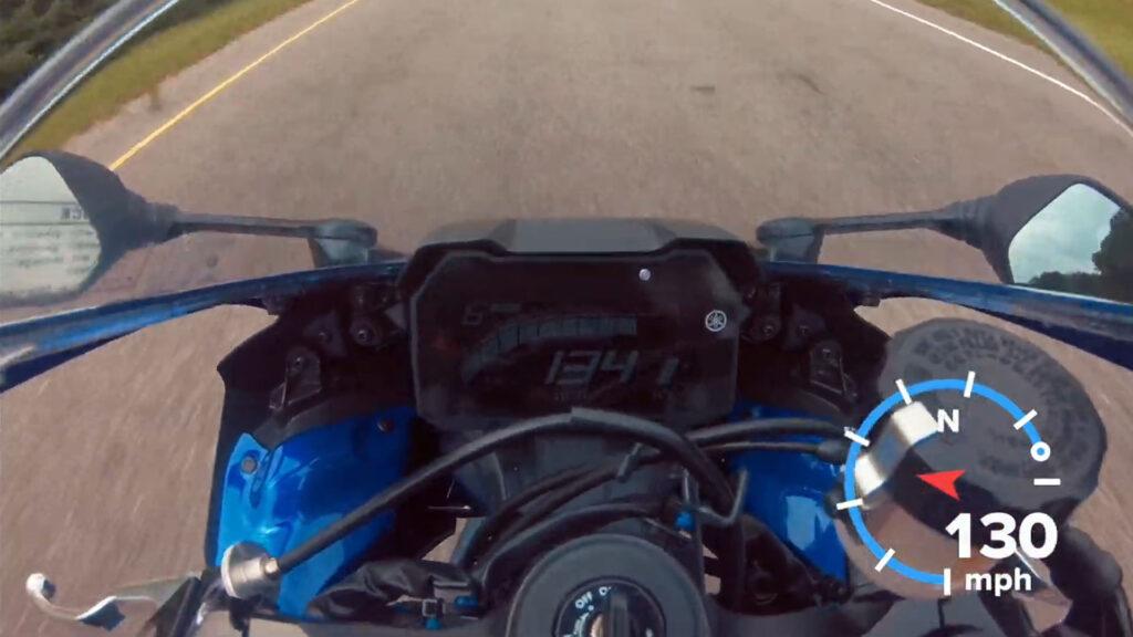 Test Maxspeed Yamaha YZF-R7 2022 GPS